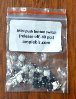 Mini Push Button Switches (Release Off) x 40