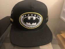 """Brand New"" Official DC COMICS Batman PATCHWORK Snapback Hat Comic Cap"
