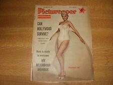 May 1956, PICTUREGOER, Belinda Lee, Mario Lanza, Shirley Jones, Judy Garland.
