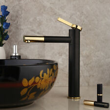 Bathroom Basin Hole Vessel Sink Faucet Single Handlel Mixer Tap Deck Mount