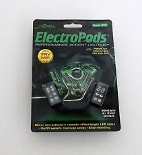 Box Lot of Six 2 packs 12 v Street FX Brand Green LED ElectroPods Accent Lights