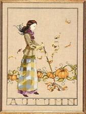 Mirabilia Autumn in My Garden Cross Stitch Pattern/chart Nora Corbett MD91