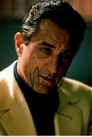 ROBERT DE NIRO signed Autogramm 20x30cm CASINO in Person autograph COA GOODFELLA