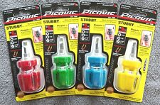 Picquic Stubby MultiBit Screwdriver with 6 Bits: FREE SHIPPING