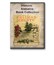34 Old Alabama State  County Family Tree History Genealogy Books - B311