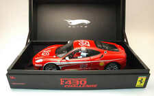 1:18 HOT WHEELS ELITE AUTO DIE CAST F 430 CHALLENGE K4146