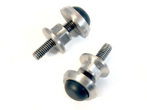 Billet Stainles Steel LTD Landau Bonnet Rubber Adjuster Bumper x2 P5 P6 FC FD FE