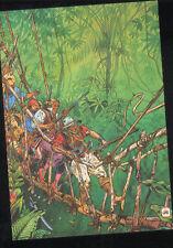 MOEBIUS Jean Giraud GIR Jungle carte postale cp postcard postkaart HUMANOIDES