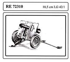 Attack RE72310 1/72 WWII German 105mm Recoiless Gun LG42/1