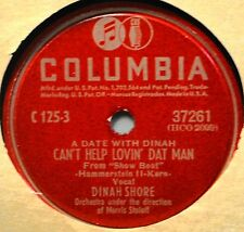 Dinah Shore Can't Help Lovin Dat Man Show Boat 78 Female Vocal The Kerry Dance