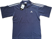 Vintage Adidas Polo T-Shirt Mens Large 3S d48 Tennis Top 2000s Real Madrid
