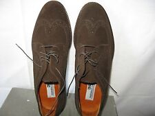 Mariano Campanilo Sport Brown Suede Shoes in original box Made in Italy size 9.5
