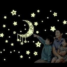 Fluoreszenzlicht Sterne helle Punkte selbst Sternenhimmel Wandtattoo Startseite