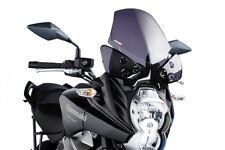 10-14 Kawasaki KLE650 Versys Puig Touring Windscreen, Dark Smoke  5255F