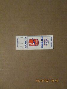 OHL Spitfires vs. Niagara Falls Vintage Circa Dec. 2, 1993 Team Logo Ticket Stub