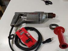 """Milwaukee Heavy Duty Model BF-312 1/2"""" Drill  3.8 amp"""