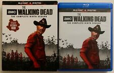 AMC THE WALKING DEAD THE COMPLETE NINTH SEASON BLU RAY 5 DISC SET + SLIPCOVER