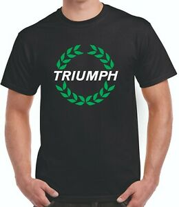 Triumph Motor Cycle classic style  tee