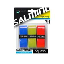 Salming Squash Super Tacky+ Overgrip (Assorted) 3 Pack