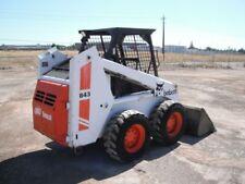 Bobcat 843, 843B Skid Steer MANUALE OFFICINA inviato come un download