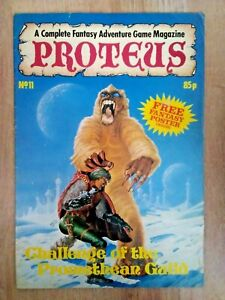 Proteus Gaming Magazine~Various Issues+Posters included