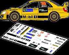 DECALS 1/43 SUBARU IMPREZA WRC #18 - WILKS - RALLYE IRLANDE 2007 - MFZ D43074