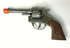 """Vintage Toy Schylling Diecast Toy Cap Gun 7"""" TC 7280 Clean VGC"""