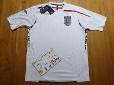 NWT England Umbro Football Soccer S/S Short Sleeves Jersey Men XL