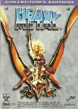 HEAVY METAL DVD Collectors Edition 1981  * ULTRA Rare REGION 4 PRINT FROM 2000