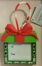 BATH & BODY WORKS GREEN GIFT PICTURE FRAME SCENTPORTABLE HOLDER LOOP HANGER CAR