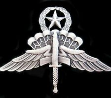 U.S. ARMY DELTA SPECIAL FORCES HALO MASTER AIRBORNE PARATROOPER BADGE  -01