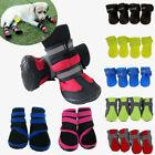 Winter Warm Non-slip Puppy Pet Dog Shoes Waterproof Boots Booties Socks Outdoor