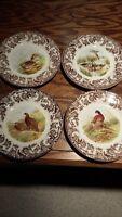 Spode Woodland set of 8 dinner plates