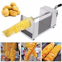 Tornado Potato Slicer Machine Vegetable Hand cranking Spiral Potato Chips Cutter