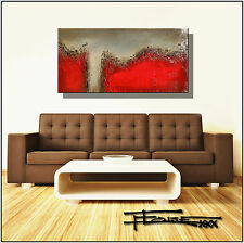 ORIGINAL ABSTRACT MODERN CANVAS PAINTING Listed by Artist Framed USA  ELOISExxx