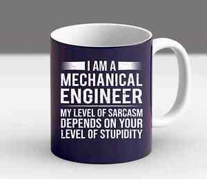Mechanical Engineer Level Of Funny  Sarcasm Tee Gift Mug