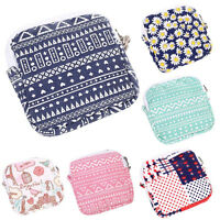 Women Girl Cute Sanitary Pad Organizer Holder Napkin Towel Convenience Bags NEW