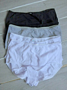 Petite Fleur Slip Unterhose Panty 5 er Pack Gr. 48/50 mehrfarbig (249) Übergröße