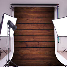 5x7ft Brown Wood Board Vinyl Photo Backdrops Photography Background Studio Props