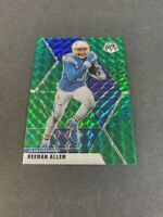 2020 Panini Mosaic Football Keenan Allen GREEN Prizm #112 Los Angeles Chargers