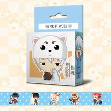 Anime GINTAMA Cosplay DIY Paper Maksing Washi Tape Stickers