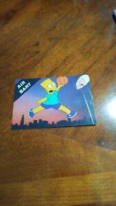 Air Bart Promo Card
