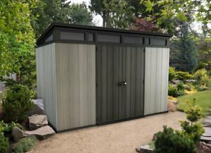 11 X 7 Ft Artisan Plastic Storage Shed NATIONWIDE FREE DELIVERY outdoor