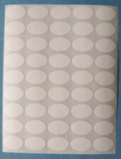 250 All Purpose Removable Adhesive Price Labels Tags Stickers Oval 12x34