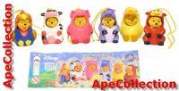 TOMY Set 6 Figuras Winnie Pooh Animal Wear Grandes Part 4 Mini Peek En