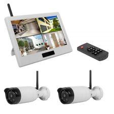 Kamerasystem HS-250 IP Full HD 1080p Videoüberwachung HS 250 Funk Überwachungssy