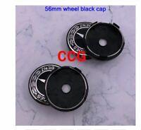 4pcs 56mm Car logo Wheel Center Cap rim Badge B56 Black