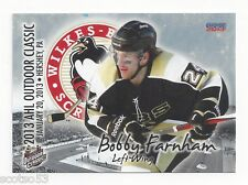 2012-13 AHL Outdoor Classic Bobby Farnham