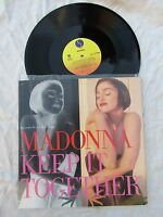 "MADONNA  12"" KEEP IT TOGETHER sire 021427 near mint...usa import issue"