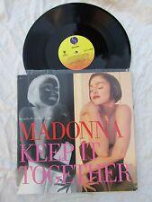 """Madonna 12"""" mantener juntos Sire 021427 Casi Nuevo.. problema de importación de EE. UU."""